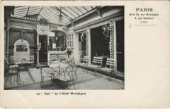 Paris 8e - Le Hall de l'Hotel Montaigne - Paris 8e