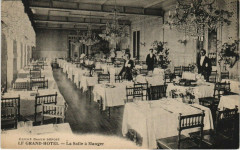 Paris 9e - Le Grand Hotel - La Salle a manger - Paris 9e