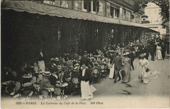 Paris 9e - La Terrasse du Café de la Paix - Paris 9e