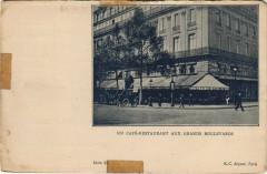 Paris 9e - Un Café restaurant aux grands Boulevards - Paris 9e