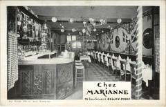 Paris 17e - Chez Marianne 72, Bd Clichy - Paris 17e