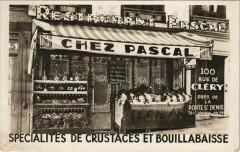 Paris 2e - Spécialités de Crustaces et Bouillabaisse - Paris 2e