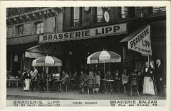 Paris 5e - Brasseri LIpp - Paris 5e