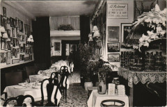 Paris 5e - Restaurant Magdeleine et Gaston George - Paris 5e