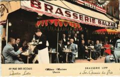 Paris 5e - Brasserie Lipp - Paris 5e
