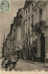 Paris 4e - L'Ile St-Louis - Eglise et Hotel Chenizot - Paris 4e