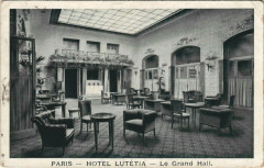 Paris 6e - Hotel Lutétia - Le Grand Hall - Paris 6e