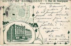 Paris 7e - Hotel de Bourgogne - Paris 7e