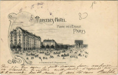 Paris 1er - Mercedes Hotel - Place de l'Etoilel - Paris 1er