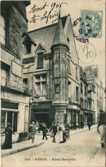 Paris 3e - Hotel Barbette - Paris 3e