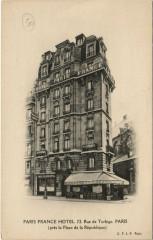 Paris 3e - Paris France Hotel - 72, Rue de Turbigo - Paris 3e