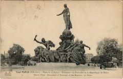 Place de la Nation - Monument du Triomphe de la République, de Dalou - Paris 12e