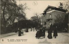 Buttes-Chaumont - La Maison du Garde - Paris 19e