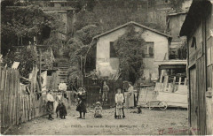 Une vue du Maquis à Montmartre - Paris 18e