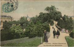 Buttes Chaumont - La Montée au Belvédère - Paris 19e