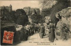 Buttes-Chaumont - Entre les Rochers - Paris 19e