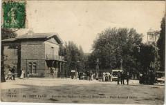 Entrée des Buttes-Chaumont - Place Armand Carrel - Paris 19e