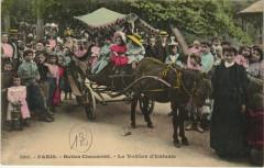 Buttes Chaumont - La Voiture d'Enfants - Paris 19e
