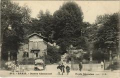 Buttes Chaumont - Porte Sécretan - Paris 19e