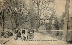 Buttes Chaumont - Le tour du lac - Paris 19e
