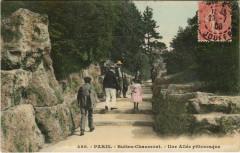 Buttes-Chaumont - Une Allée pittoresque - Paris 19e