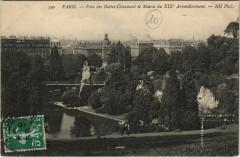 Parc des Buttes-Chaumont et Mairie du XIXe Arrondissement - Paris 19e