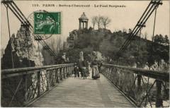 Buttes-Chaumont - Le Pont Suspendu - Paris 19e