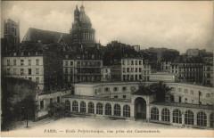 Ecole Polytechnique, vue prise des Casernements - Paris 5e