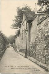 Vieux Montmartre - Maison de Henri IV, Rue Saint-Vincent - Paris 18e