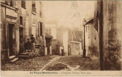 Le Vieux-Montmartre - L'Impasse Trainée - Paris 18e