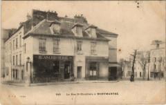 La Rue Saint-Eleuthère à Montmartre 75 Paris 18e