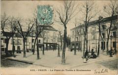 La Place du Tertre à Montmartre 75 Paris 18e