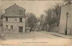 Carrefour des Saules à Montmartre - Paris 18e
