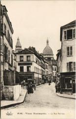 Vieux Montmartre - La Rue Norvins - Paris 18e