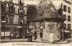 Vieux Montmartre - L'Ancien Manoir de Gabrielle d'Estrées - Paris 18e