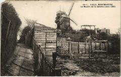 Vieux Montmartre - Le Moulin de la Galette - Paris 18e