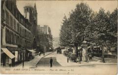 Montmartre - Place des Abbesses - Paris 18e
