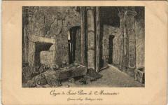 Crypte de Saint-Pierre de Montmartre 75 Paris 18e