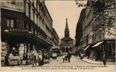 Place du Commerce à la Rue de l'Abbé Groult - L'Eglise Saint-Jean Baptiste de Grenelle - Paris 15e