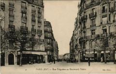 Rue Falguière au Boulevard Pasteur - Paris 15e