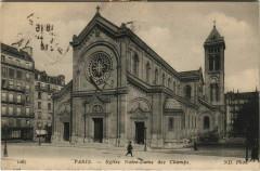 Eglise Notre-Dame des Champs 75 Paris 14e