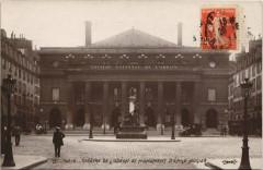 Théâtre de l'Odéon et Monument d'Emile Augier - Paris 6e