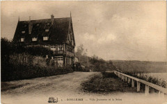 Bois-le-Roi - Villa Jeannette et la Seine - Bois-le-Roi