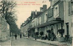 Saint-Mammes - Le Quai de Seine vers Mimi Pinson - Saint-Mammès