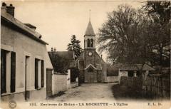 La Rochette - Eglise - Env. de Melun - La Rochette