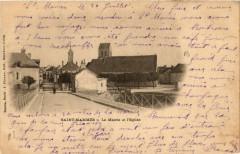 Saint-Mammes - La Mairie et Eglise - Saint-Mammès