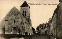 Ussy-sur-Marne - Eglise et la Rue Principale - Ussy-sur-Marne