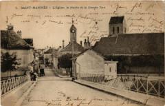Saint-Mammes - Eglise - La Mairie et la Grande Rue - Saint-Mammès
