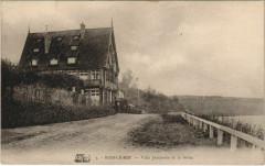 Bois le Roi Villa Jeannette et la Seine France  - Bois-le-Roi