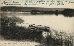 Bois le Roi Bords de la Seine France  - Bois-le-Roi